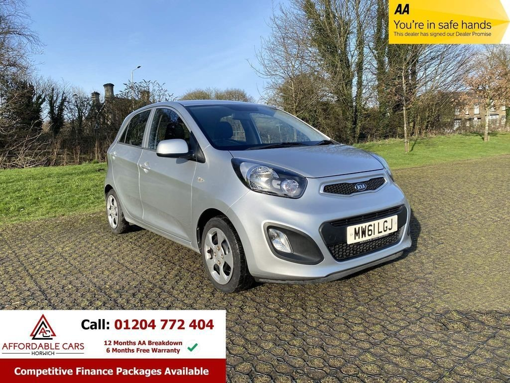 USED 2012 61 KIA PICANTO 1.0 1 AIR 5d 68 BHP 1 Owner, Full Service History