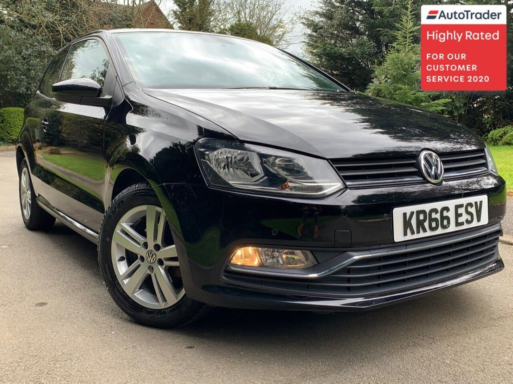 USED 2016 66 VOLKSWAGEN POLO 1.2 MATCH TSI 3d 89 BHP