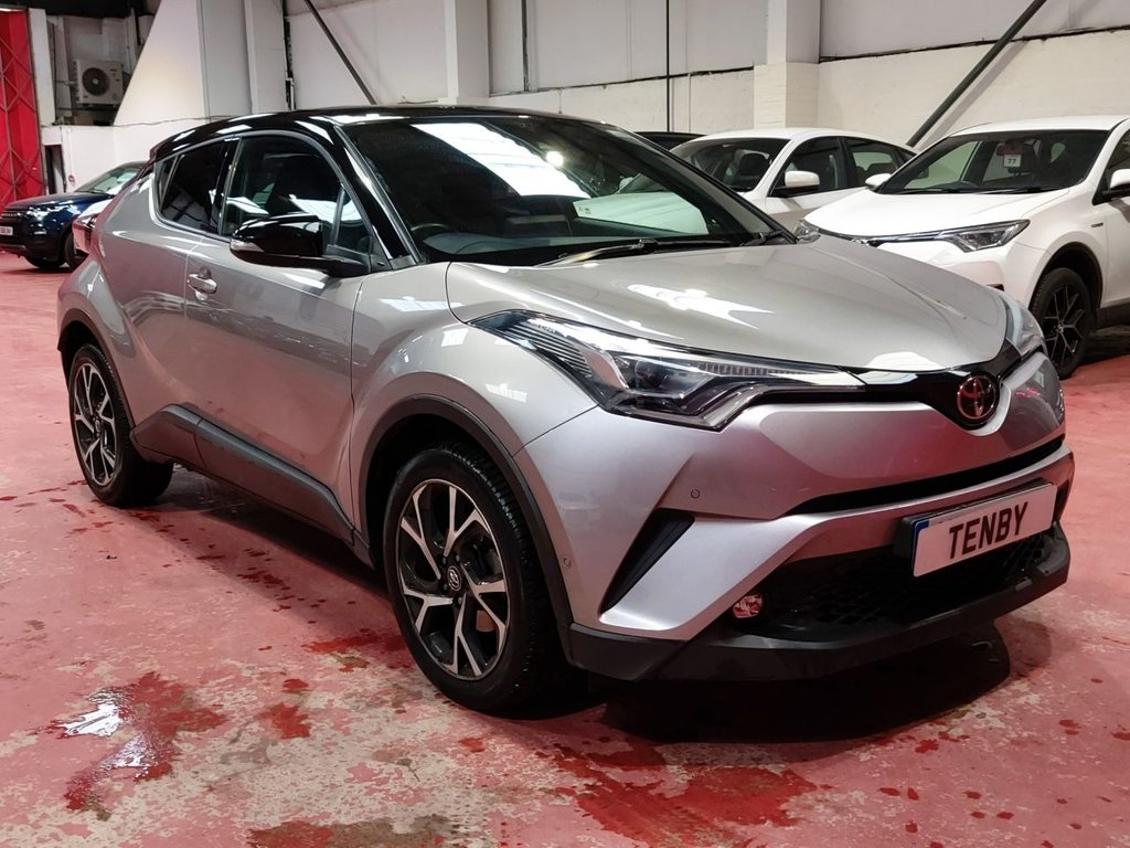 USED 2017 17 TOYOTA CHR 1.2 DYNAMIC AWD 5d 114 BHP