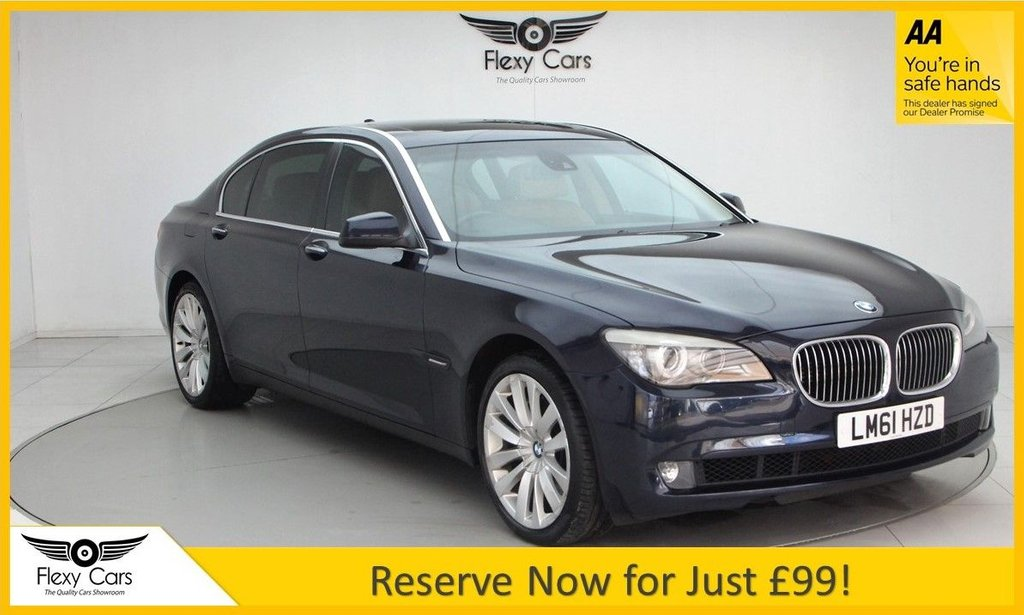 USED 2011 61 BMW 7 SERIES 4.4 750I LI 4d 403 BHP