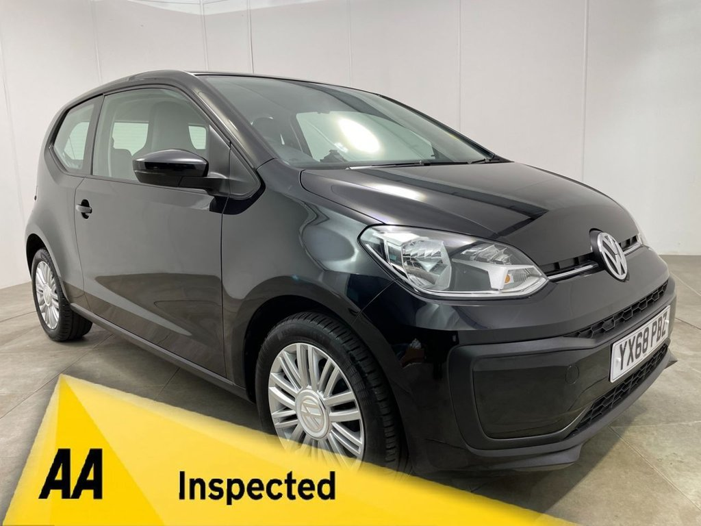 USED 2018 68 VOLKSWAGEN UP 1.0 MOVE UP BLUEMOTION TECHNOLOGY 3d 60 BHP