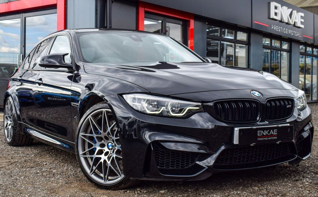 USED 2017 BMW M3 3.0 M3 COMPETITION PACKAGE 4d 444 BHP