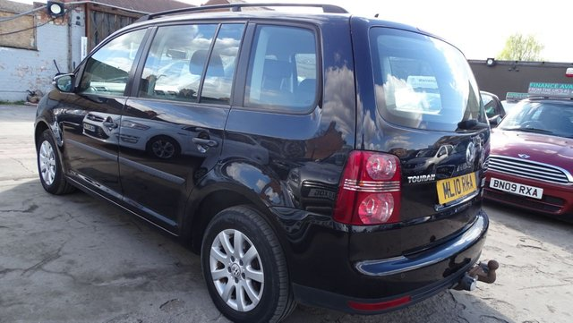 USED 2010 10 VOLKSWAGEN TOURAN 1.9 S TDI 5d 103 BHP 7 SEATER DRIVES VERY WELL