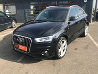 USED 2012 62 AUDI Q3 2.0 TDI QUATTRO S LINE 5d 175 BHP PAN ROOF - LEATHER - SAT NAV