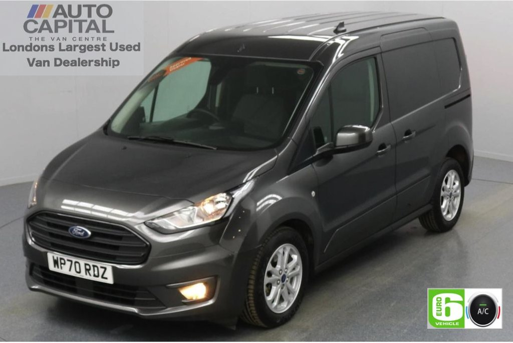 USED 2020 70 FORD TRANSIT CONNECT 1.5 200 Limited EcoBlue Auto 120 BHP L1 SWB 3 Seats Low Emission Automatic Gearbox | Keyless | Air Con | Rear Parking Sensors | Alloy wheels | Auto Start-Stop system