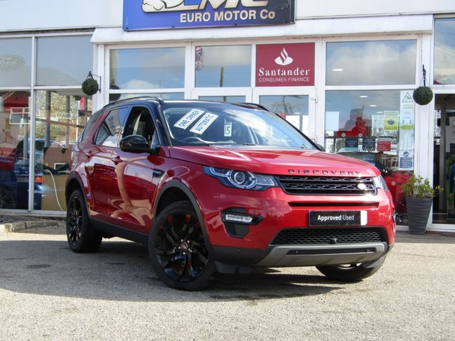 2017 17 LAND ROVER DISCOVERY SPORT 2.0 TD4 HSE BLACK 5d 180 BHP