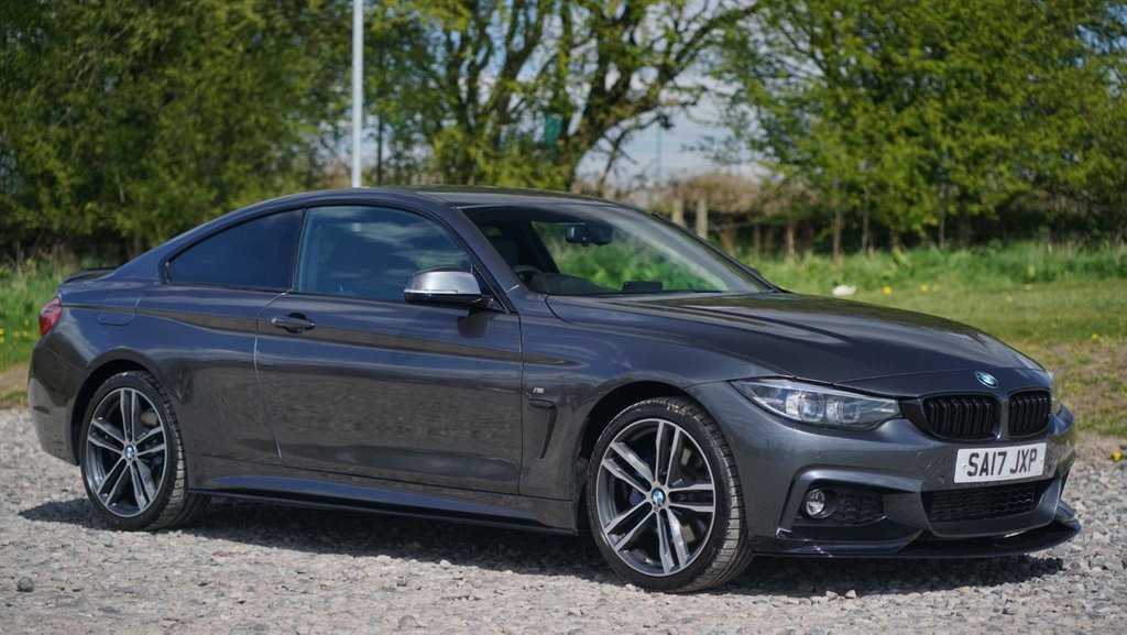 USED 2017 17 BMW 4 SERIES 2.0 420D XDRIVE M SPORT 2d 188 BHP Free Next Day Nationwide Delivery