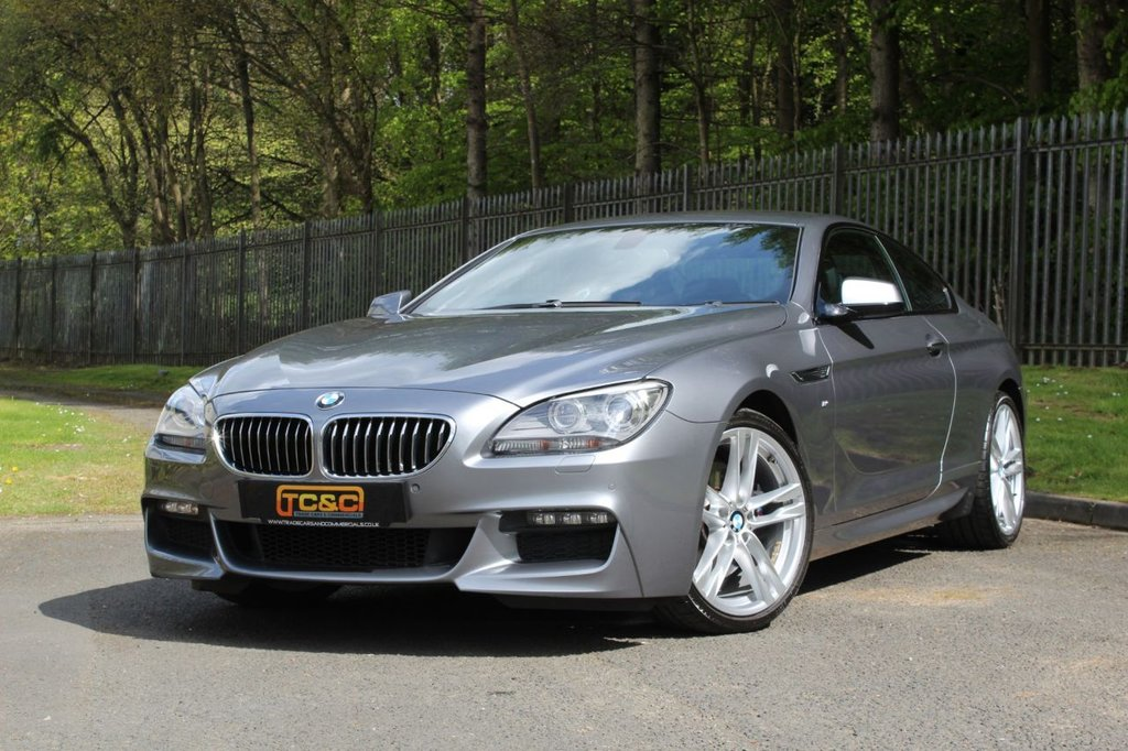 USED 2014 64 BMW 6 SERIES 3.0 640D M SPORT 2d 309 BHP A STUNNING LOW MILEAGE 6 SERIES WITH BMW DEALER HISTORY AND GREAT SPECIFICATION!!!