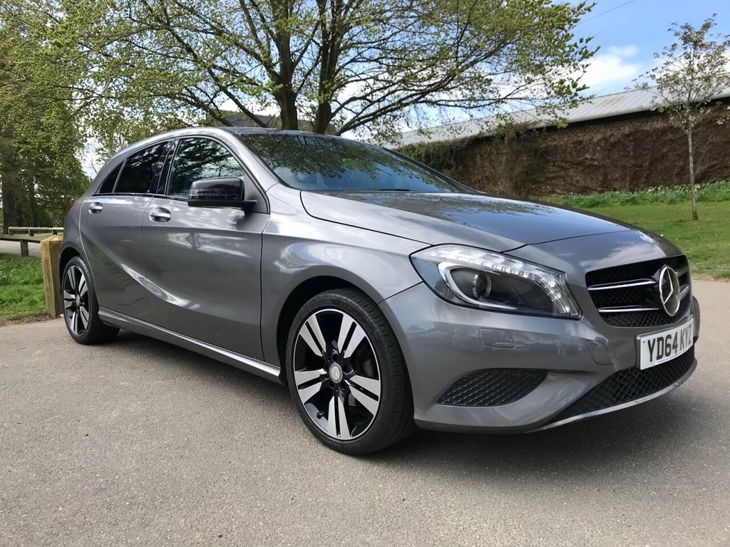 USED 2014 64 MERCEDES-BENZ A-CLASS 1.5 A180 CDI BLUEEFFICIENCY SPORT 5d 109 BHP 1 FORMER OWNER, FULL HISTORY £30 YEARLY ROAD TAX.