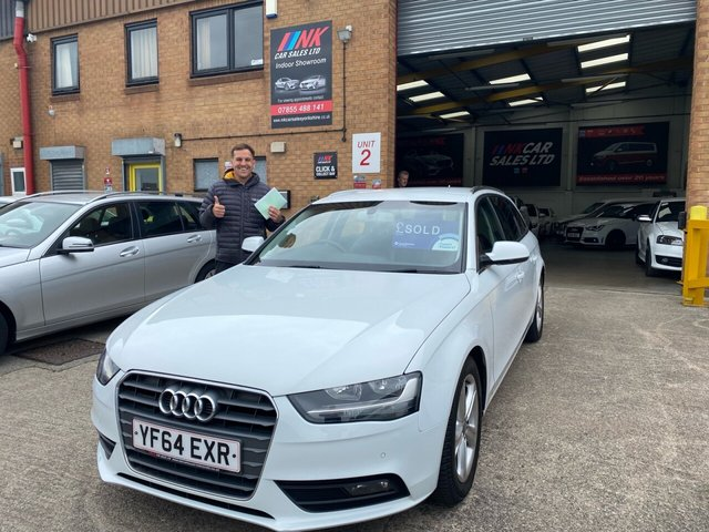 2014 64 AUDI A4 2.0 TDI ULTRA SE TECHNIK 5d 161 BHP FULL LEATHERS SAT SOLD TO CALLUM FROM STOKENAV NOW IN STOCK