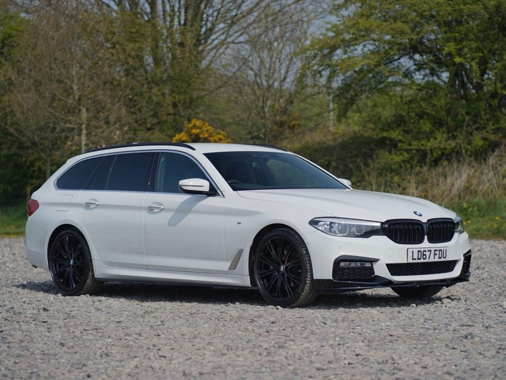 USED 2017 67 BMW 5 SERIES 3.0 530D XDRIVE M SPORT TOURING 5d 261 BHP Free Next Day Nationwide Delivery