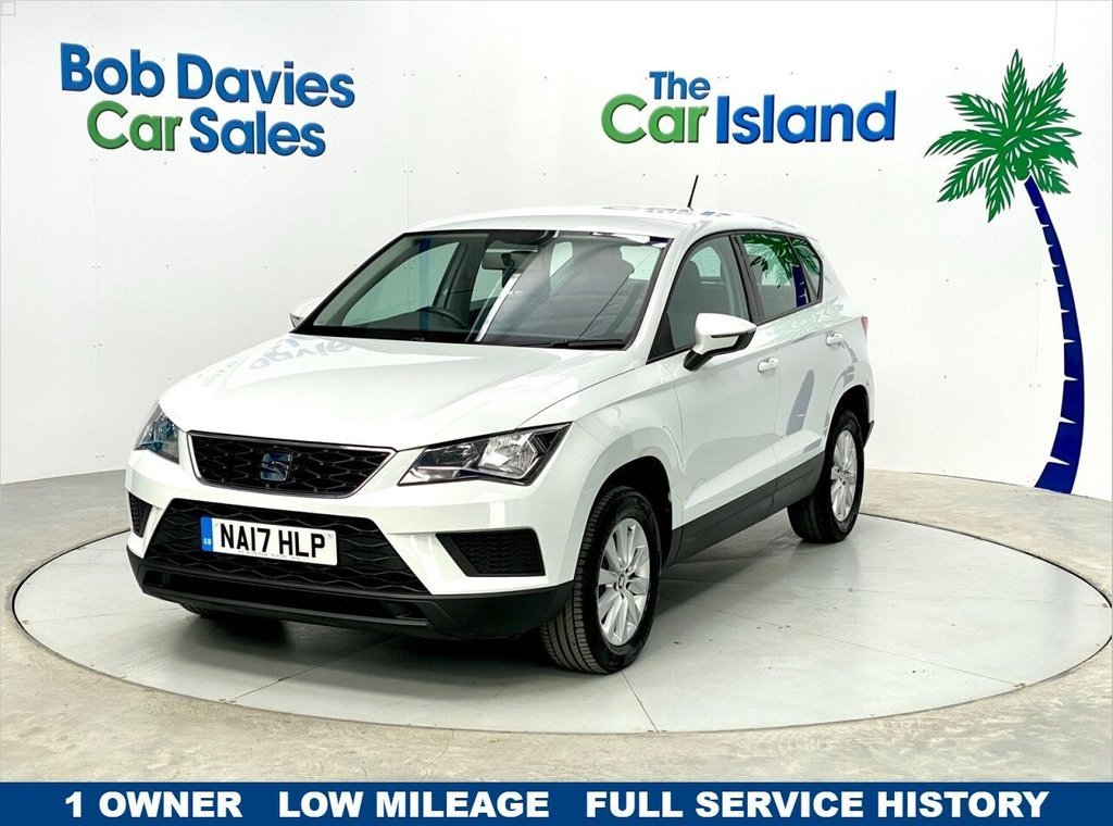 USED 2017 17 SEAT ATECA 1.6 TDI ECOMOTIVE S 5d 114 BHP Privacy Glass Alloy Wheels Media Pack 30000 miles