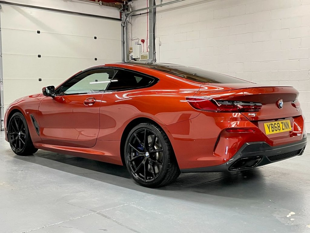 USED 2018 68 BMW 8 SERIES 3.0 840d Steptronic xDrive (s/s) 2dr