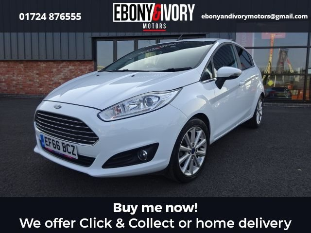 USED 2016 66 FORD FIESTA 1.0 TITANIUM 5d 99 BHP + FULL SERVICE HISTORY + 1 YEAR MOT AND BREAKDOWN COVER