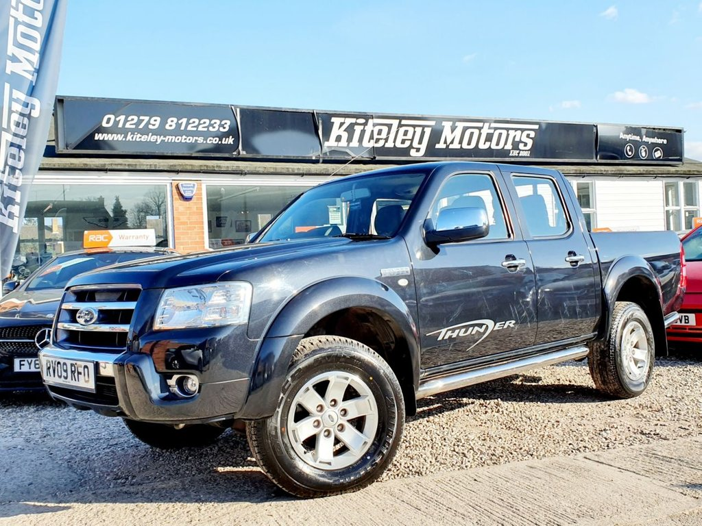 USED 2009 09 FORD RANGER 2.5 TDCi XL THUNDER 4X4 DOUBLE CAB