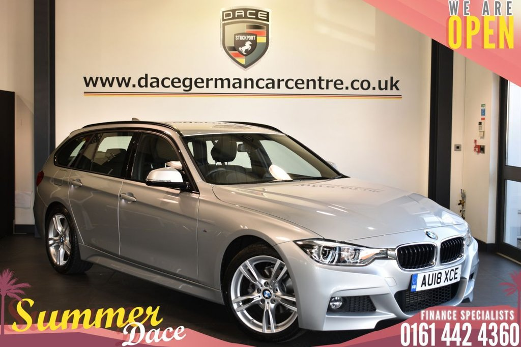 USED 2018 18 BMW 3 SERIES 2.0 318D M SPORT TOURING 5DR AUTO 148 BHP