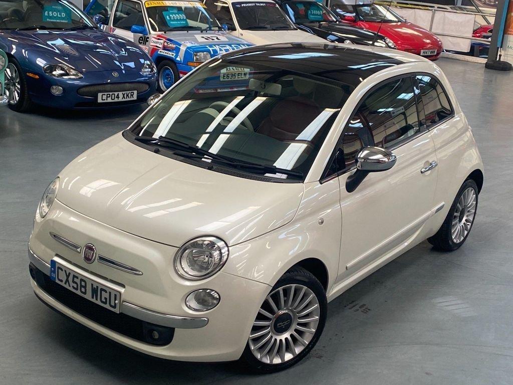 USED 2008 58 FIAT 500 1.2 LOUNGE 3d 69 BHP