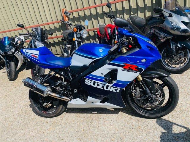 2007 07 SUZUKI GSXR 600 K5, ANNIVERSARY EDITION