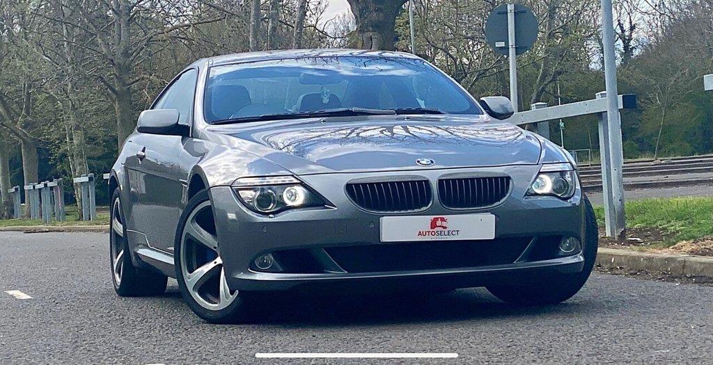 USED 2007 57 BMW 6 SERIES 3.0 635D SPORT 2d 282 BHP SAT NAV LEATHER ONLY 89K HUGE SPEC