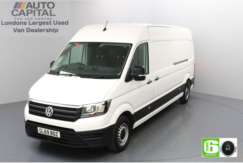 USED 2019 69 VOLKSWAGEN CRAFTER 2.0 CR35 TDI StartLine LWB 140 BHP Low Emission Business Pack   Air Con   Front and rear parking sensors   Auto Start-Stop system