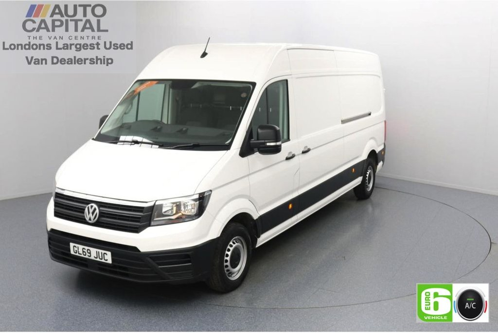 USED 2019 69 VOLKSWAGEN CRAFTER 2.0 CR35 TDI StartLine LWB 140 BHP Low Emission Business Pack | Air Con | Front and rear parking sensors | Auto Start-Stop system