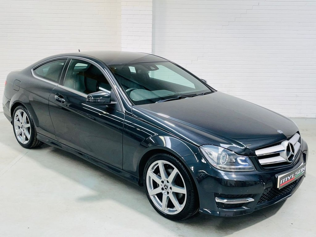 USED 2013 63 MERCEDES-BENZ C-CLASS 2.1 C220 CDI BLUEEFFICIENCY AMG SPORT 2d 170 BHP AMG Pack, Low Mileage, Freshly Powder-Coated Wheels