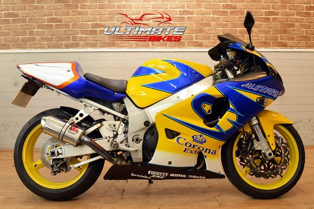 USED 2002 02 SUZUKI GSXR 750  - FREE DELIVERY AVAILABLE