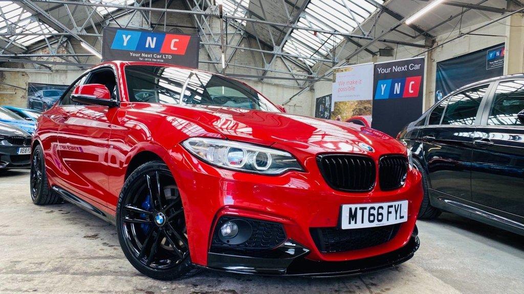 USED 2016 66 BMW 2 SERIES 2.0 220d M Sport Auto (s/s) 2dr PERFORMANCEKIT+MPLUSPACK+18S