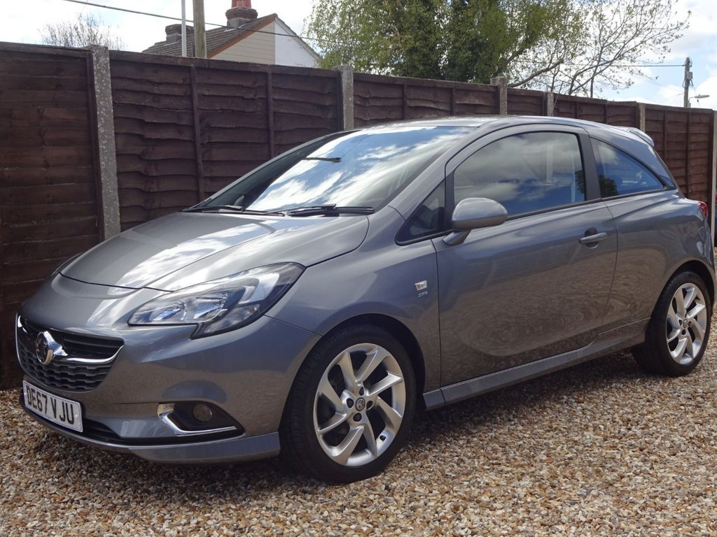 USED 2017 67 VAUXHALL CORSA 1.4 SRI VX-LINE 3 DOOR *LOOK* FULL SERVICE HISTORY, READY TO DRIVE AWAY