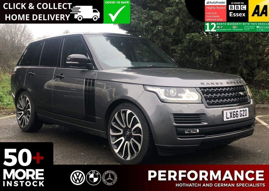 USED 2016 66 LAND ROVER RANGE ROVER 3.0 TD V6 Vogue Auto 4WD (s/s) 5dr STUNNING CAR BEST COLOUR COMBO AVAILABLE