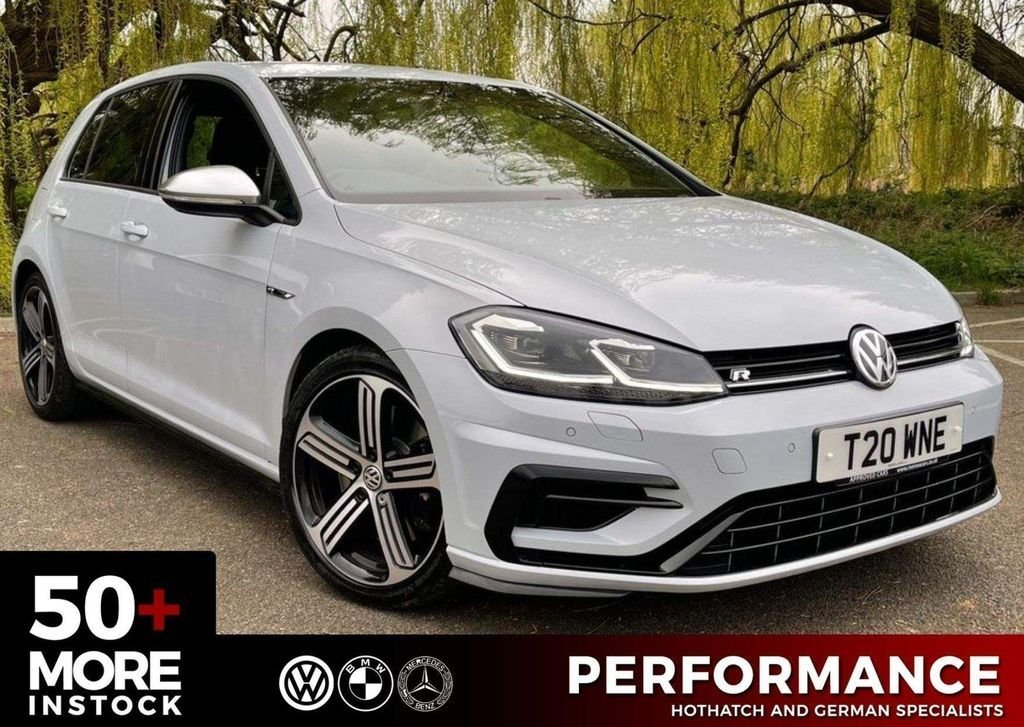 USED 2019 T VOLKSWAGEN GOLF 2.0 R TSI 4MOTION DSG 5d 296 BHP