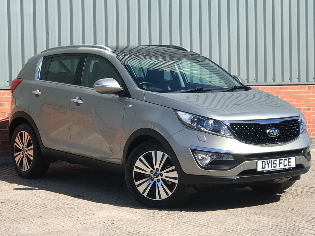 USED 2015 KIA SPORTAGE 2.0 CRDI KX-4 5d 181 BHP FANTASTIC EXAMPLE WITH HIGH SPECIFICATION