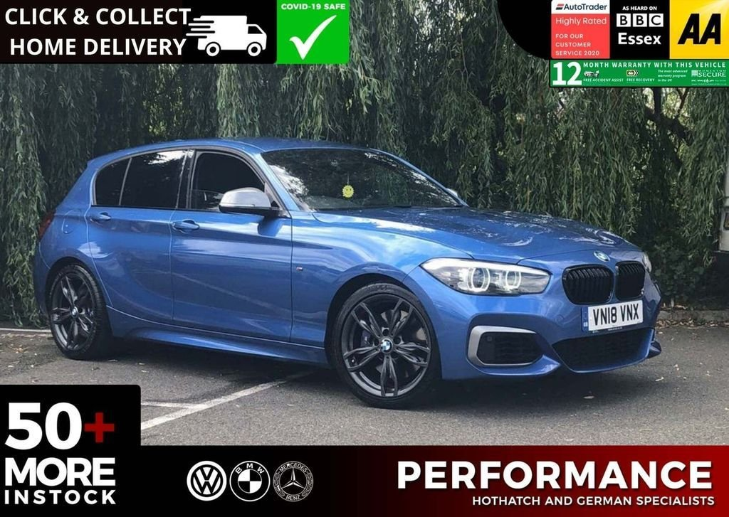 USED 2018 18 BMW 1 SERIES 3.0 M140I SHADOW EDITION 5d 420 BHP