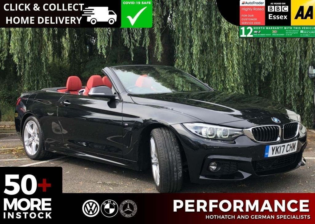 USED 2017 17 BMW 4 SERIES 2.0 430I M SPORT 2d 248 BHP V Qualifying