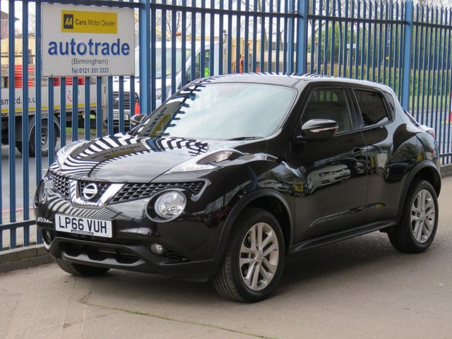 USED 2017 66 NISSAN JUKE 1.2 N-CONNECTA DIG-T 5d 115 BHP. SAT NAV-BLUETOOTH-CRUISE-REAR CAMERA SAT NAV-REVERSING CAMERA-DAB-CRUISE CONTROL-CLIMATE CONTROL-USB