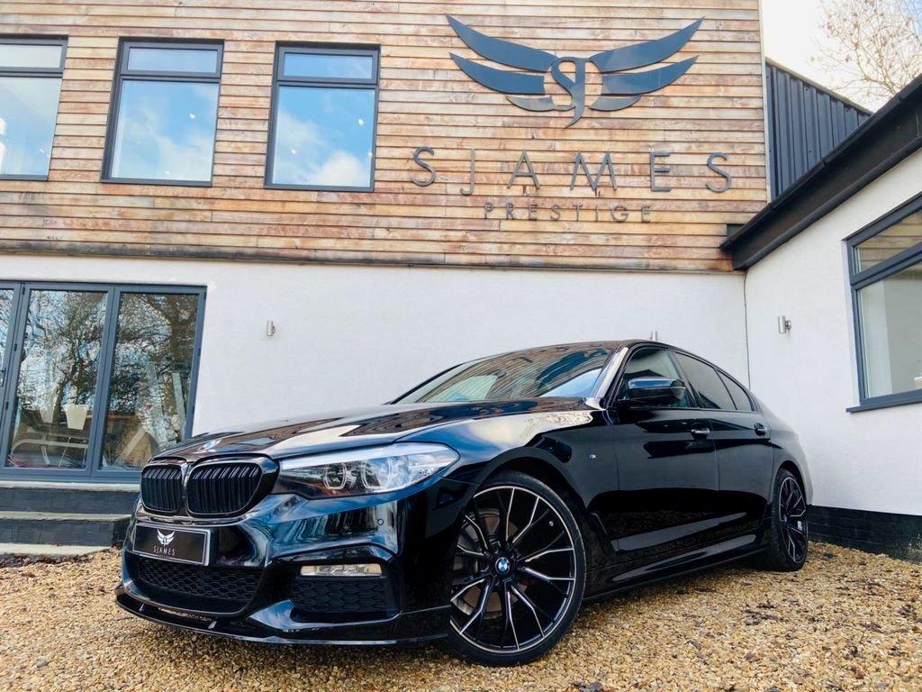 USED 2018 68 BMW 5 SERIES 3.0 530D M SPORT 4d AUTO 261 BHP