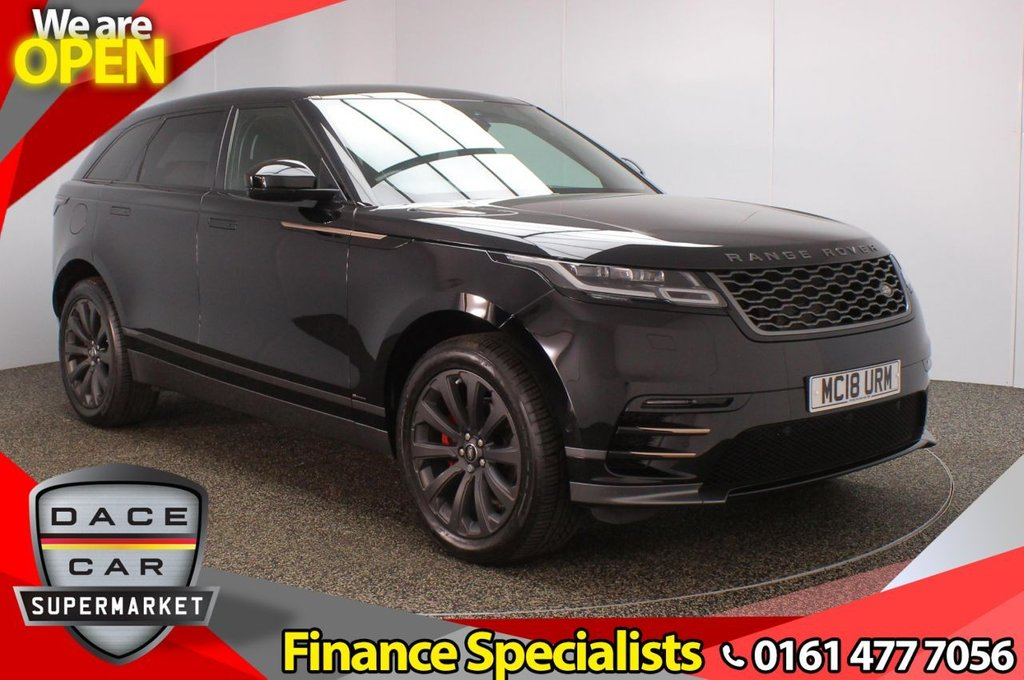 USED 2018 18 LAND ROVER RANGE ROVER VELAR 2.0 R-DYNAMIC SE 5DR AUTO 247 BHP FULL SERVICE HISTORY + HEATED LEATHER SEATS + SATELLITE NAVIGATION + REVERSING CAMERA + PARK ASSIST + PARKING SENSOR + LANE ASSIST SYSTEM + BLIND SPOT MONITOR + BLUETOOTH + CRUISE CONTROL + CLIMATE CONTROL + MULTI FUNCTION WHEEL + DAB RADIO + PRIVACY GLASS + XENON HEADLIGHTS + ELECTRIC/MEMORY FRONT SEATS + MERIDIAN PREMIUM SPEAKERS + ELECTRIC WINDOWS + ELECTRIC/HEATED/FOLDING DOOR MIRRORS + 20 INCH ALLOY WHEELS