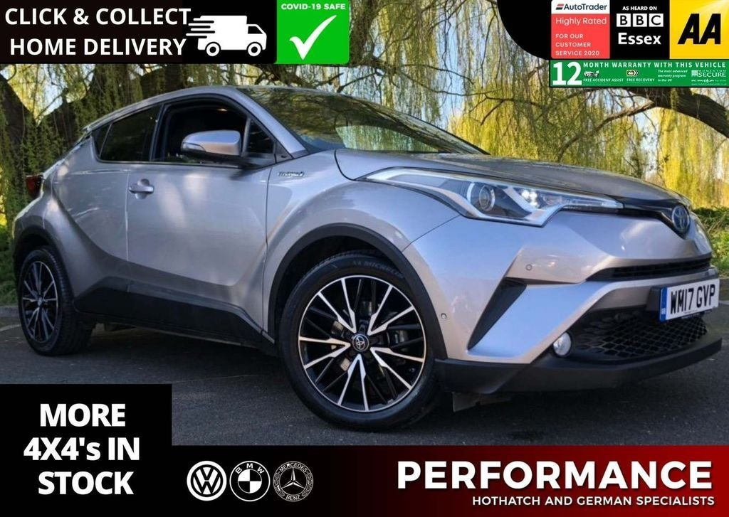 USED 2017 17 TOYOTA CHR 1.8 EXCEL 5d 122 BHP