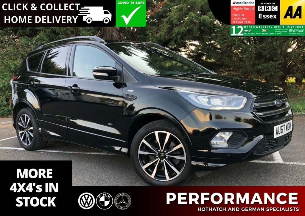 USED 2017 67 FORD KUGA 2.0 ST-LINE TDCI 5d 177 BHP