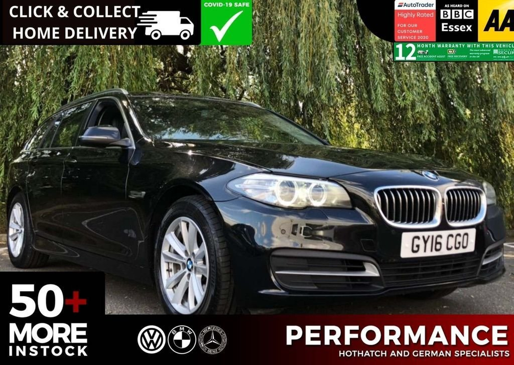 USED 2016 16 BMW 5 SERIES 2.0 525D SE TOURING 5d 215 BHP