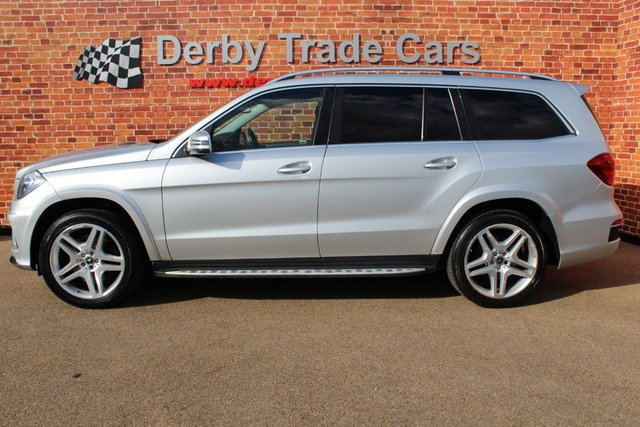 MERCEDES-BENZ GL CLASS at Derby Trade Cars