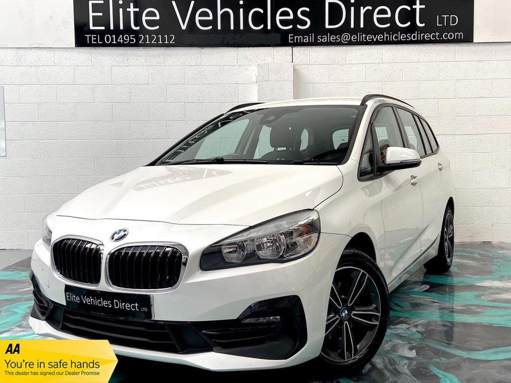 USED 2018 68 BMW 2 SERIES 1.5 216D SPORT GRAN TOURER 5d 115 BHP