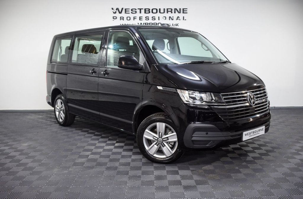 USED 2020 20 VOLKSWAGEN TRANSPORTER SHUTTLE T6.1 SHUTTLE SE 2.0 TDI 150PS SWB 8 SEAT Click&Collect / Home Delivery