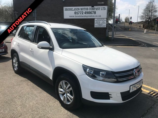 USED 2013 13 VOLKSWAGEN TIGUAN 2.0 S TDI BLUEMOTION TECHNOLOGY 4MOTION DSG/AUTOMATIC 5DR