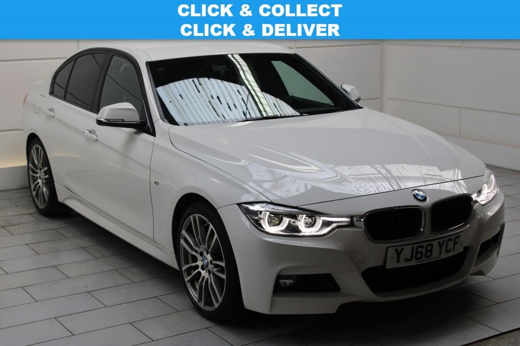 USED 2019 68 BMW 3 SERIES 2.0 320i M Sport Auto (start/stop)