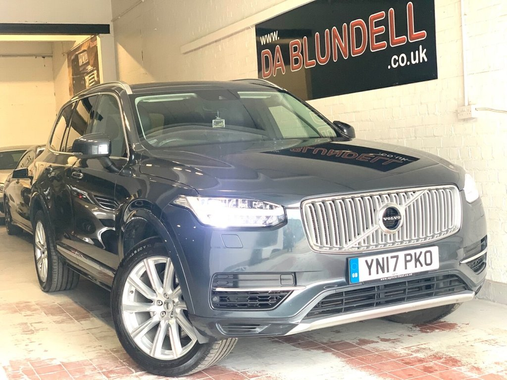 USED 2017 17 VOLVO XC90 2.0 T8 TWIN ENGINE INSCRIPTION 5d 316 BHP FREE ROAD TAX+PAN ROOF+1 OWNER