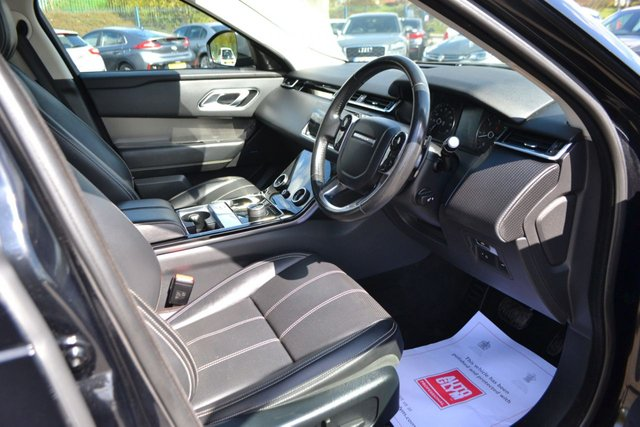 USED 2017 67 LAND ROVER RANGE ROVER VELAR 3.0 S 5d 296 BHP ~ BLACK PACK ~ F/L/S/H BLACK PACK ~ FRONT AND REAR PDC ~ MERIDIAN ~ PRIVACY GLASS