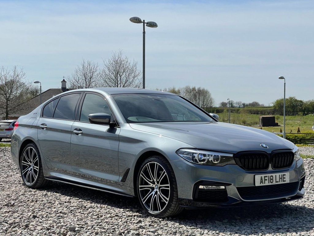 USED 2018 18 BMW 5 SERIES 2.0 530E M SPORT 4d 249 BHP Free Next Day Nationwide Delivery