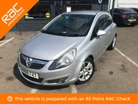 USED 2009 59 VAUXHALL CORSA 1.4i 16V SXi 3dr IDEAL FIRST CAR!!