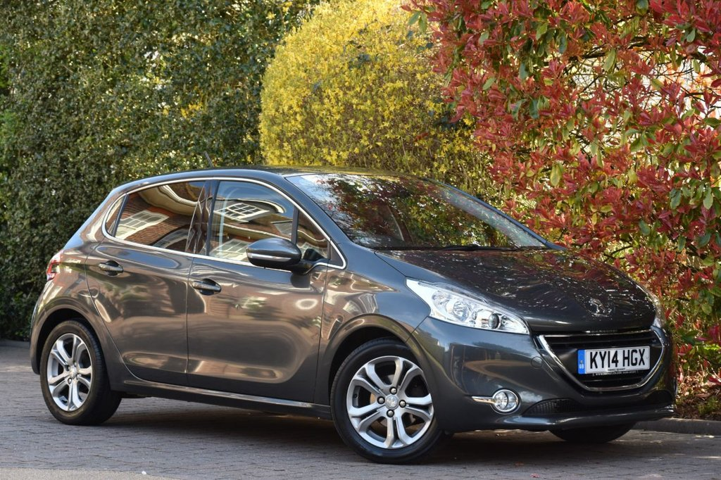USED 2014 14 PEUGEOT 208 1.4 ALLURE HDI 5DR 68 BHP